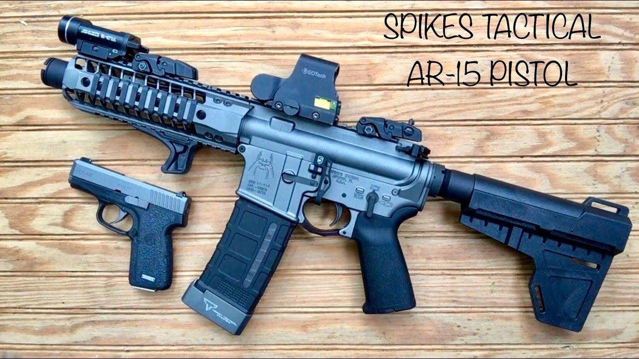 The AR15 Pistol…… a useful tool or fun toy? |
