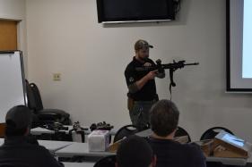 Tactical Rifle classroom presentation