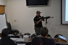 Tactical Rifle classroom presentation