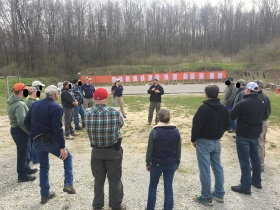 Range briefing during a FASTER Foundations class for armed educators