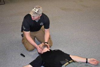 Explaining airway management in EDC Trauma class